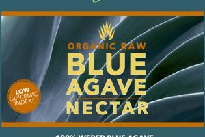 ORGANIC RAW BLUE AGAVE NECTAR