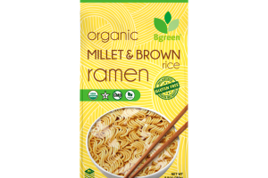 ORGANIC RAMEN MILLET & BROWN RICE