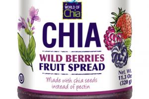 WILD BERRIES FRUIT SPREAD