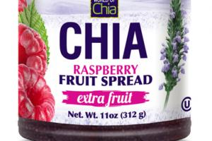 RASPBERRY EXTRA FRUIT SPREAD CHIA