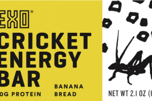 BANANA BREAD CRICKET ENERGY BAR