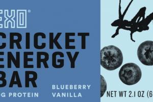 BLUEBERRY VANILLA CRICKET ENERGY BAR