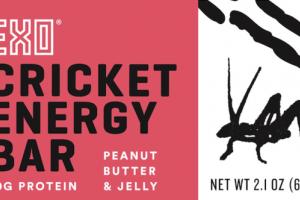 PEANUT BUTTER & JELLY CRICKET ENERGY BAR