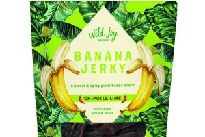 CHIPOTLE LIME MARINATED BANANA JERKY SLICES SNACK