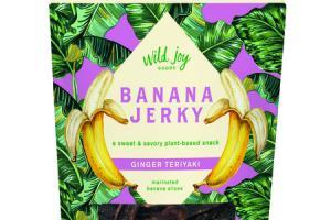 GINGER TERIYAKI BANANA JERKY A SWEET & SAVORY PLANT-BASED SNACK