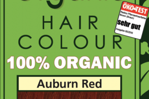 HAIR COLOUR 100% ORGANIC AUBURN RED