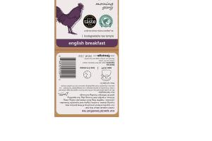 ENGLISH BREAKFAST MORNING GLORY BIODEGRADABLE TEA TEMPLE