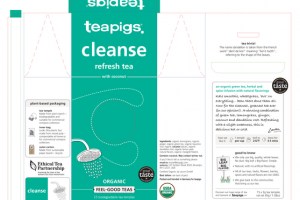 ORGANIC CLEANSE REFRESH TEA WITH COCONUT
