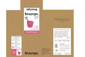CAFFEINE-FREE RHUBARB & GINGER TEA TEMPLES