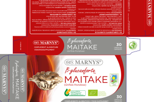 B-GLUCANFORTE MAITAKE FOOD SUPPLEMENT CAPSULES