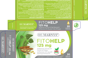 FITO HELP 125 MG FOOD SUPPLEMENT CAPSULES