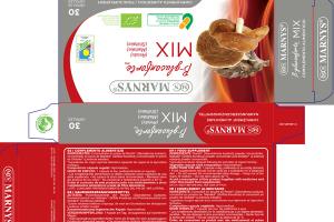 B-GLUCANFORTE LINE MIX (REISHI) (MAITAKE) (SHIITAKE) FOOD SUPPLEMENT CAPSULES