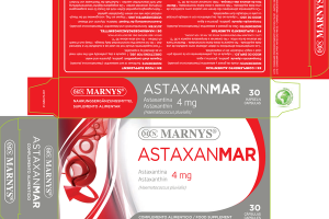 ASTAXANMAR ASTAXANTHIN 4 MG (HAEMATOCOCCUS PLUVIALIS) FOOD SUPPLEMENT CAPSULES