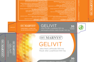 GELIVIT ROYAL JELLY LYOPHILIZED 300 MG FOOD SUPPLEMENT CAPSULES