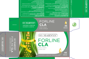 FORLINE CLA LINOLEIC ACID FOOD SUPPLEMENT CAPSULES