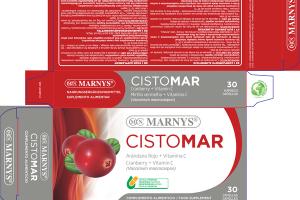 CISTOMAR CRANBERRY + VITAMIN C (VACCINIUM MACROCARPON) FOOD SUPPLEMENT VEGETABLE CAPSULES