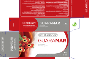 GUARAMAR GUARANA FOOD SUPPLEMENT CAPSULES