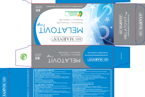 MELATOVIT 1 MG FOOD SUPPLEMENT CAPSULES