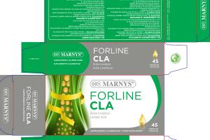 FORLINE CLA LINOLEIC ACID FOOD SUPPLEMENT CAPSULES