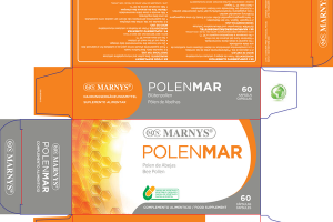 POLENMAR BEE POLLEN FOOD SUPPLEMENT CAPSULES