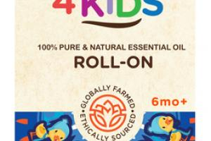 100% PURE & NATURAL ESSENTIAL OIL COUGH ROLL-ON