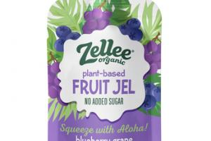 BLUEBERRY GRAPE PLANT-BASED FRUIT JEL