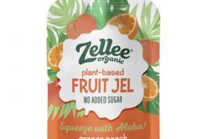 NO ADDED SUGAR ORANGE PEACH PLANT-BASED FRUIT JEL