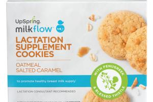 LACTATION SUPPLEMENT COOKIES OATMEAL SALTED CARAMEL DIETARY SUPPLEMENT
