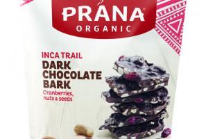 DARK CHOCOLATE BARK INCA TRAIL CRANBERRIES, NUTS & SEEDS SNACK