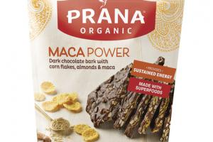MACAPOWER DARK CHOCOLATE BARK WITH CORN FLAKES, ALMONDS & MACA