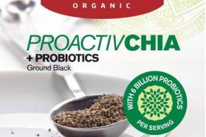 ORGANIC PROACTIVCHIA + PROBIOTICS GROUND BLACK
