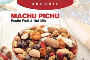 MACHU PICHU ORGANIC EXOTIC FRUIT & NUT MIX