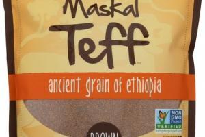 BROWN ANCIENT GRAIN OF ETHIOPIA