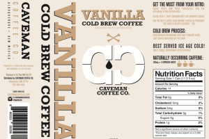 VANILLA COLD BREW COFFEE