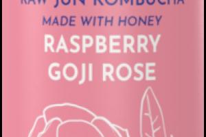 RASPBERRY GOJI ROSE RAW JUN KOMBUCHA