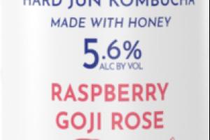 RASPBERRY GOJI ROSE HARD JUN KOMBUCHA BEER