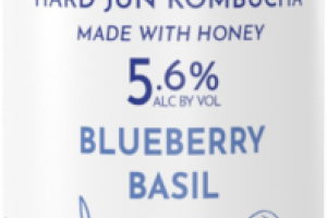BLUEBERRY BASIL HARD JUN KOMBUCHA BEER