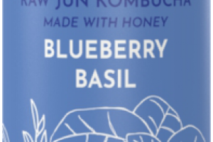 BLUEBERRY BASIL RAW JUN KOMBUCHA
