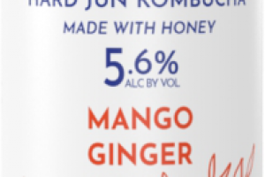 MANGO GINGER HARD JUN KOMBUCHA