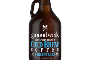 100% REAL CONCENTRATE COLD BREW COFFEE