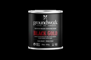 DARK ROAST BLACK GOLD ARABICA WHOLE BEAN COFFEE