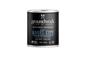 LIGHT ROAST DECAF ANGEL CITY ARABICA WHOLE BEAN COFFEE
