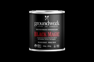 MEDIUM ROAST BLACK MAGIC ORGANIC ARABICA WHOLE BEAN COFFEE