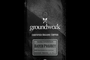 MEDIUM ROAST BATCH PROJECT SEASONAL ESPRESSO BLEND ORGANIC ARABICA WHOLE BEAN COFFEE