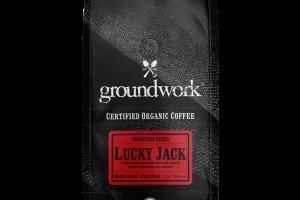 MEDIUM ROAST SIGNATURE BLEND LUCKY JACK WHOLE BEAN COFFEE