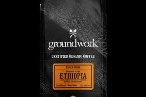 LIGHT ROAST ETHIOPIA HEIRLOOM BLEND SINGLE ORIGIN ORGANIC ARABICA WHOLE BEAN COFFEE