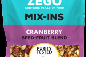 CRANBERRY SEED+FRUIT BLEND MIX-INS