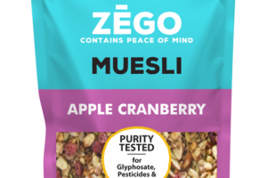 APPLE CRANBERRY ORGANIC MUESLI