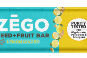 LEMON GINGER SPICY, WITH TURMERIC SEED + FRUIT BAR