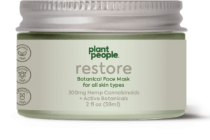 RESTORE HEMP CANNABINOIDS 300 MG + ACTIVE BOTANICALS FACE MASK